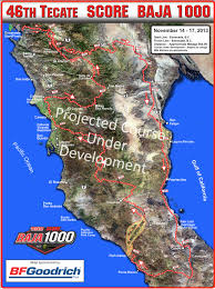 Ensenada Mexico Map by 2013 Baja 1000 Course Map Enduro360 Com