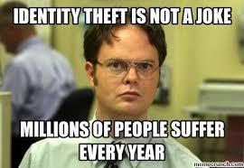 Identity Theft Meme - theft