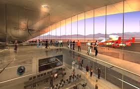 New Mexico business traveller images Amazing photos richard branson 39 s new virgin galactic spaceport jpg