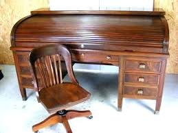 vintage roll top desk value roll top desk chair vintage roll top desk and office chair roll top