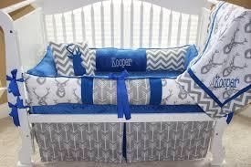 Blue Nursery Bedding Sets by Crib Bedding Sets Deer Creative Ideas Of Baby Cribs