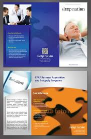 Brochures And Business Cards Freelance Brochure Design For Sleep Nation Inc By Ken Cambodia
