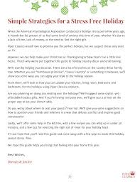 Proper Way To Set A Table by Download Your Guide To A Stress Free Holiday