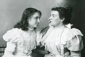 Blind And Deaf Woman Helen Keller Deaf And Blind Advocate And Role Model