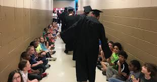 It Is Cool To Be - schs seniors inspire through graduate parade wneg