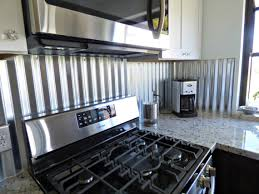 stainless steel backsplashes for kitchens kitchen backsplash stainless backsplash ideas tin metal