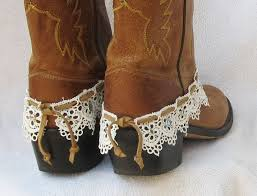 ankle cuff bracelet images Leather and lace boot cuff bracelet studs by feathers2gether jpg