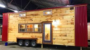 fanciest tiny house modern rustic tiny home from incredible tiny homes tiny house