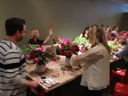 Robbins Flowers - mary pinson master class with matthew robbins at flower