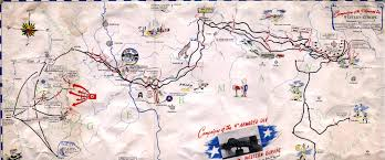 World War Ii Map by 9th Armored Division Of The Us Army Route And Campaign Map Of