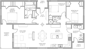 Net Zero Energy Home Plans by Net Zero Homes Floor Plans
