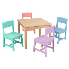kidkraft farmhouse table and chairs farmhouse table and chair set seaside kidkraft for amanda nb