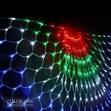 outdoor led net lights decorations led net string lights