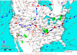 us weather map cold fronts synoptic discussion august 2016 state of the climate