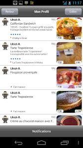 reseau social cuisine food reporter le réseau social de la nourriture sur android frandroid