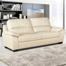 cream leather and wood sofa cream leather sofa plan all about home design jmhafen com in 9