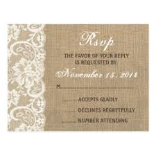 rsvp wedding lace wedding rsvp gifts on zazzle
