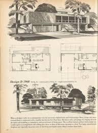 Mid Century Modern Ranch House Plans Vintage House Plans Mid Century Homes Large Homes Mid Century