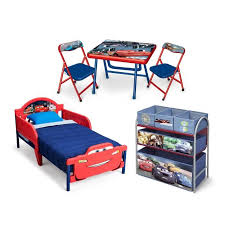 chambre enfant complet cars chambre enfant complète tout en un et multicolore