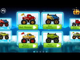 boys games racing cars cartoon car games monster snow