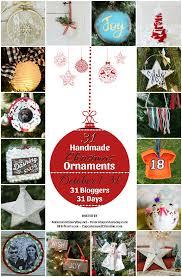 handmade felt tree ornament
