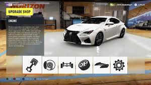 lexus v8 power upgrades forza horizon 2 lexus rc f top speed build youtube