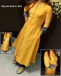 new design new design cotton selfie kurti 401 at rs 395 designer