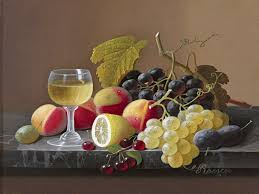 fruit lemon wine grapes s roesen tile mural wall backsplash art fruit lemon wine grapes s roesen tile mural
