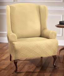 2 Piece Wing Chair Slipcover Best 25 Wingback Chair Covers Ideas On Pinterest Wingback Chair