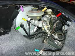 porsche 911 carrera master cylinder replacement 996 1998 2005