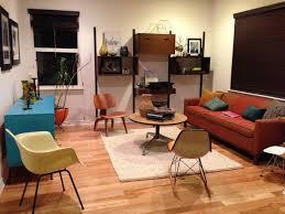 mid century modern living room interiors design
