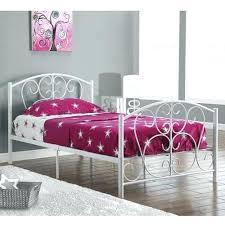 bed frames for twin size beds white metal twin size bed frame only