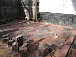 Brick Patio Diy The 2 Seasons The Mother Daughter Lifestyle Blog
