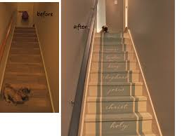 Painted Furniture Ideas Before And After Painted Stairs Paint Stairs Stair Makeover And Furniture Ideas