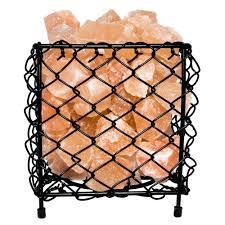 himalayan salt l basket himalayan natural salt air purifying square style basket l