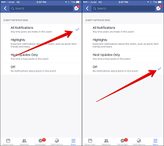 How To Turn Off Iphone Light How To Turn Off Facebook Event Notifications On Iphone And Pc