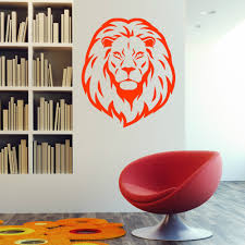 Home Interior Lion Picture Aliexpress Com Buy Lion Head Animal Wall Decal Vinyl Stickers