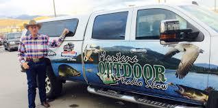 hunting truck karl tyler u0027s montana outdoor radio show hunting fishing truck