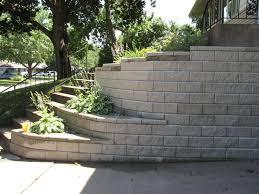 Garden Wall Retaining Blocks by Decorative Retaining Wall Garden Wall Blocks The Gardens Style