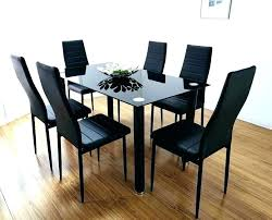 black dining room round dining room tables for 6 black dining table and 6 chairs round