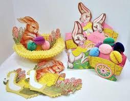 Vintage Easter Decorations On Ebay by 114 Best Easter And Spring Images On Pinterest Vintage Easter