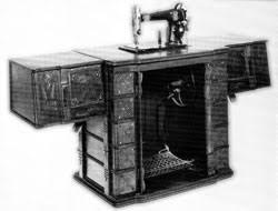 White Sewing Machine Cabinet by White Sewing Machine Cleveland Storyteller Blog