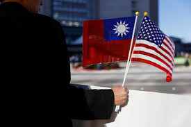 Blood Stained Flag China To U0027take Off Gloves U0027 If Donald Trump Continues Taiwan