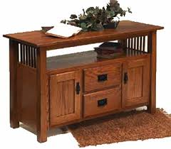 mission style console table craftsman collection mission revival style furniture mission style