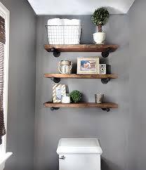shelves in bathroom ideas best 25 shelves above toilet ideas on half bathroom