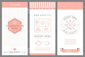 menu template dessert menu templates 21 free psd eps format free
