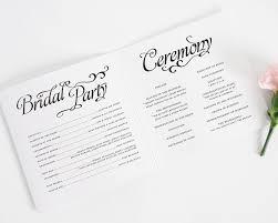 Create Wedding Programs Online Wedding Program Script Wedding Ceremony Script Examples Inspiring