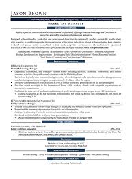 marketing manager resume exles media resume exles resume professional writers