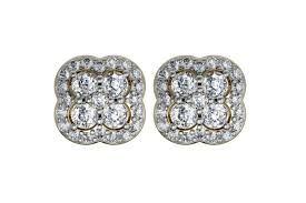 diamond ear studs buy aditi diamond ear studs online in india at best price jewelslane