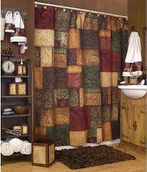 adorable western themed shower curtains and cabin rustic lodge
